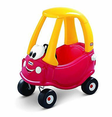 Little Tikes Cozy Coupe Red Yellow Ride / On Push Along Car Anniversary Edition
