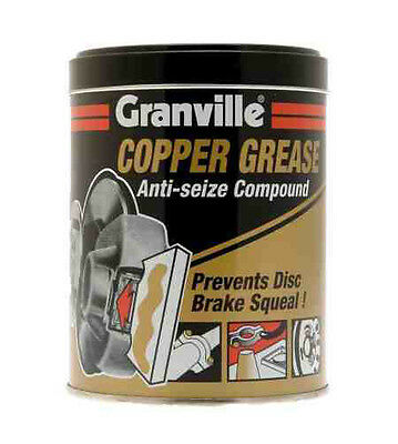 Granville Copper Grease Slip Multi Purpose Anti Seize Assembly Compound 500g