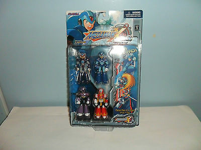 MEGA MAN X  (-new in box-) set of 4 figures --very rare--