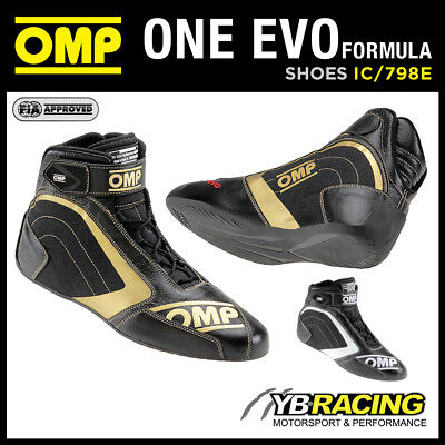 Sale! Ic/798E Omp One Evo Formula 1 Racing Rally Boots Ultra Lightweight Design