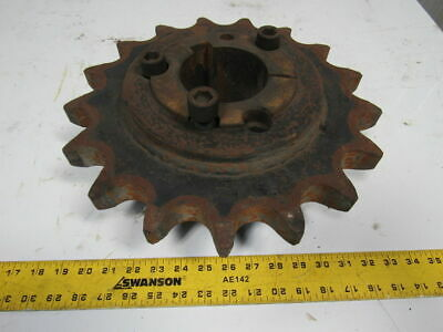 "Martin 14 Tooth #200 Roller Chain Sprocket W/4545 3-7/8"" Bore Bushing"