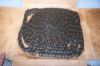 New Ametric 40 Pitch Steel Double Roller Chain 10' Feet Long