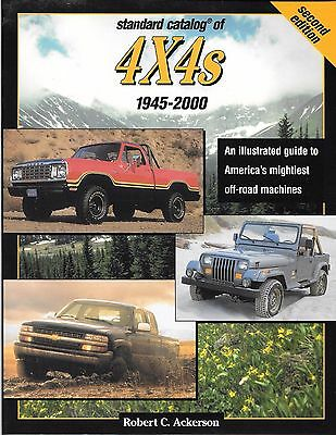 STANDARD CATALOG OF 4X4s TRUCK BOOK