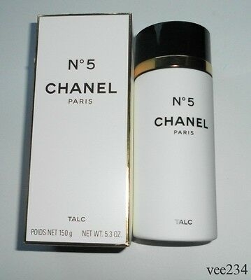 Original Vintage Chanel No.5 Talc-150g-Original Box-Opened But Not Used