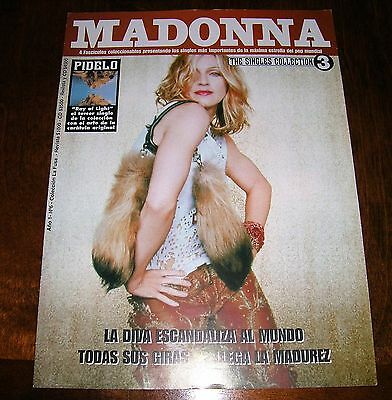 MADONNA The Singles Collection #3 Magazine Chile 2001 ray of light 01 mag tour