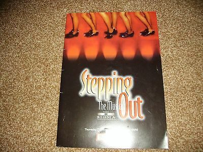 Stepping Out theatre programme Diane Langton 1997