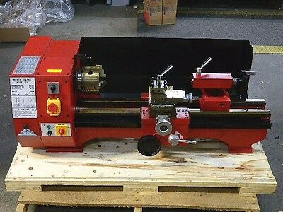 "Precision Bench Lathe 10"" x 22"" Geared Head 6-Speed 125 - 2000 RPM 110v Model C6"