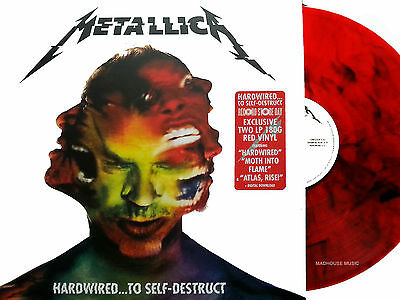 METALLICA LP x 2 Hardwired To Self Destruction RED VINYL Double RSD Sealed