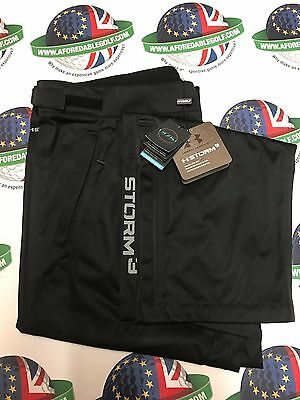 Under Armour Golf Storm 3 Black Waterproof Trousers Uk Size Medium