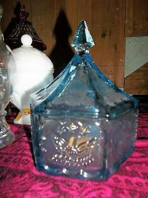 Vintage American Eagle And Seal Covered Candy Dish