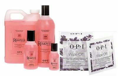 OPI Acetone Free Wipes and Polish Remover - Choose Your Size