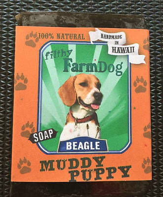 Beagle / Bar of Dog Soap / Fun Graphics / Unique Gift / All Natural