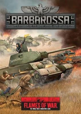 Flames of War Wargaming Book - Operation Barbarossa - FW305 - New