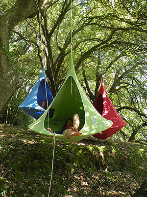 CACOON DOUBLE, hang-in-out, das swing-Nest in grün 180 cm Liegefläche (10711