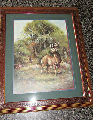 Home Interiors Picture Whitetail 10 Point Buck