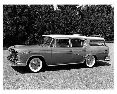 1956 Rambler Custom Station Wagon ORIGINAL Factory Photo ouc3286