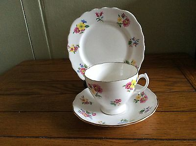 Trio Cup Saucer And Plate Very Pretty Floral Design