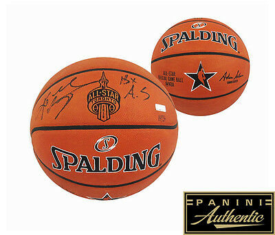 Kobe Bryant Signed Spalding Authentic 2016 All-Star NBA Basketball LE - 18x AS
