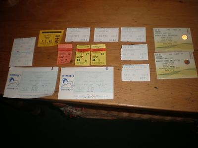 15 x  JOHNNY MATHIS CONCERT TICKETS