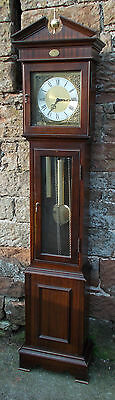 MODERN Grandfather LONGCASE CLOCK Hermle 451-050 With WESTMINSTER CHIME