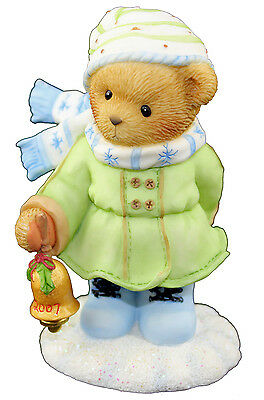 Cherished Teddies RosaLee May Your Season Ring With Happiness 4008149 Boxed
