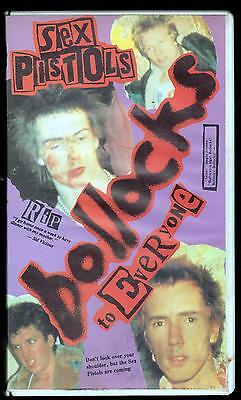 The Sex Pistols Vhs Bollocks To Everyone