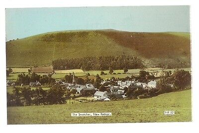 THE SMATCHER, NEW RADNOR, POWYS used vintage postcard by Frith   1973