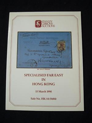 Stanley Gibbons Auction Catalogue 1990 Specialised Far East In Hong Kong