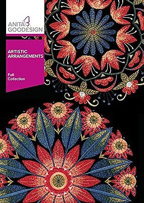 Anita Goodesign ARTISTIC ARRANGEMENTS Full Collection 355AGHD - NEW SEALED