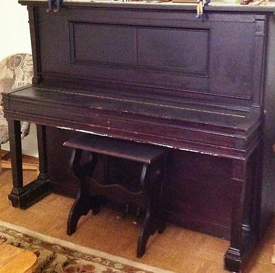 LAFFARGUE NY PLAYER PIANO in Working Condition With Music Rolls  (1921-1923)