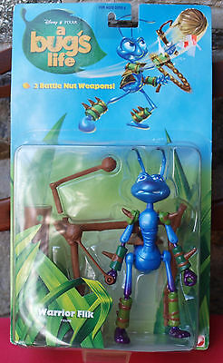 A Bug's Life Action Figure Warrior Flik New In Package