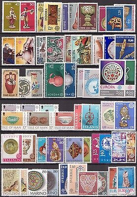EUROPA - Année 1976 COMPLETE avec BLOC - Timbres Neufs** - LUXE