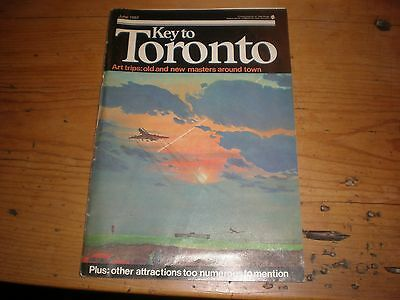 Toronto Magazine And Cn Tower Postcard June 1982