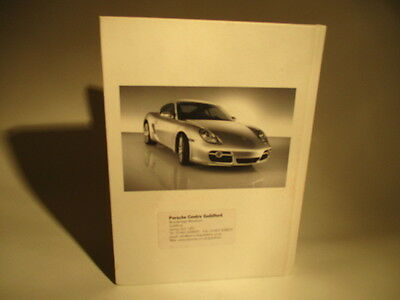Porche New Cayman S  Promotional Collectors Book Owner Manual Sales Technical