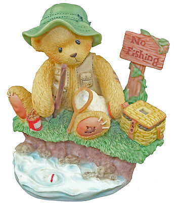 Cherished Teddies Norm Patience is a Fisherman's Virtue 476765 Boxed