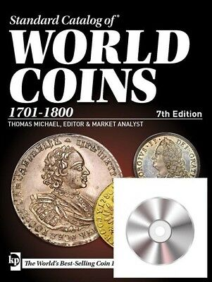 Krause Cd Standard Catalog Of World Coins 1701-1800 6Th Edition