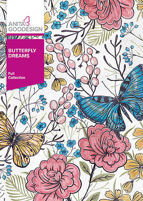 Anita Goodesign BUTTERFLY DREAMS Quilting Collection 347AGHD - NEW SEALED