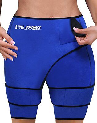 """Slimming Sauna Shorts Shed Water Weight Loss Waist 28""""-49"""" Compression Sweat Gym"""