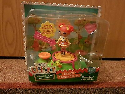 Mini Lalaloopsy Doll Playground - Ember Flicker Flame Trampoline New In Box GIFT