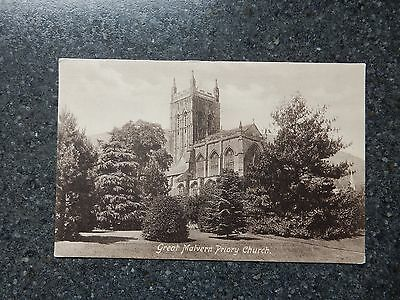Frith Postcard - Priory Church -Great Malvern - Worcestershire