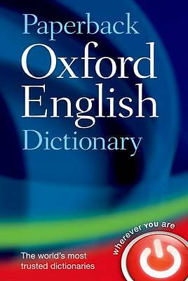 Oxford Dictionaries-Paperback Oxford English Dictionary  BOOK NEW