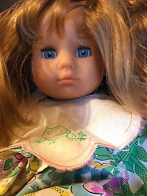 "ZAPF CREATION DOLL 22"" Large Collector Doll RARE ZAPF DOLL ZAPF CREATIONS 1986"