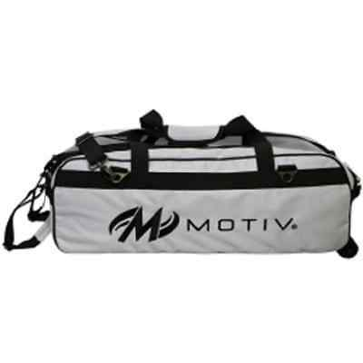 Motiv 3 Ball Tote Bowling Bag  Color White NEW
