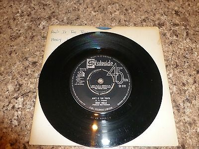 Mary Wells / Aint It The truth, Tamla Motown Soul 45rpm Stateside