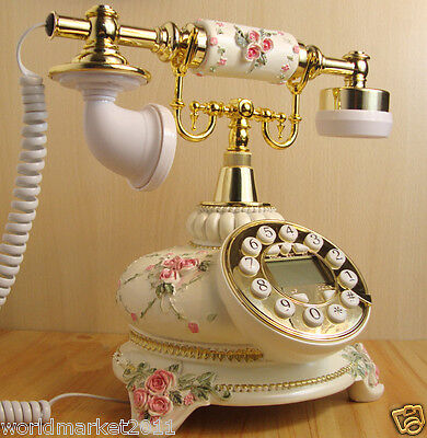 High Grade European Style Antique Ancient Fashion Dial Telephone