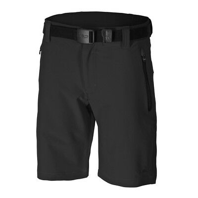 F.LLI Campagnolo Boys Stretch Bermuda Pant Children's Shorts black