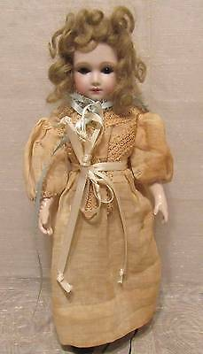 Beautiful French At Artist Reproduction Doll 11""