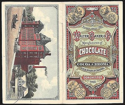 Walter Baker & Co., Booklet of Cocoa & Chocolate, with Recipes, 1876