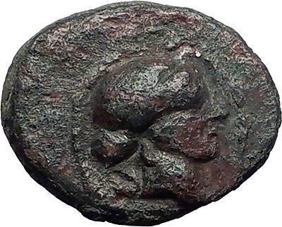 SARDES in Lydia 133BC Authentic Ancient Greek Coin APOLLO & HERCULES CLUB i59521