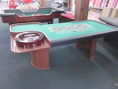 """New 96"""" Professional Roulette  Table With Roulette Wheel"""
